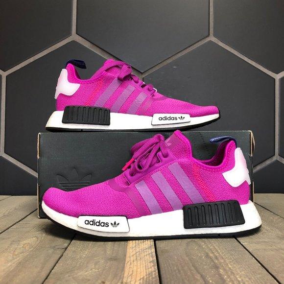 Womens Adidas Nmd R Vivid Pink Multiple